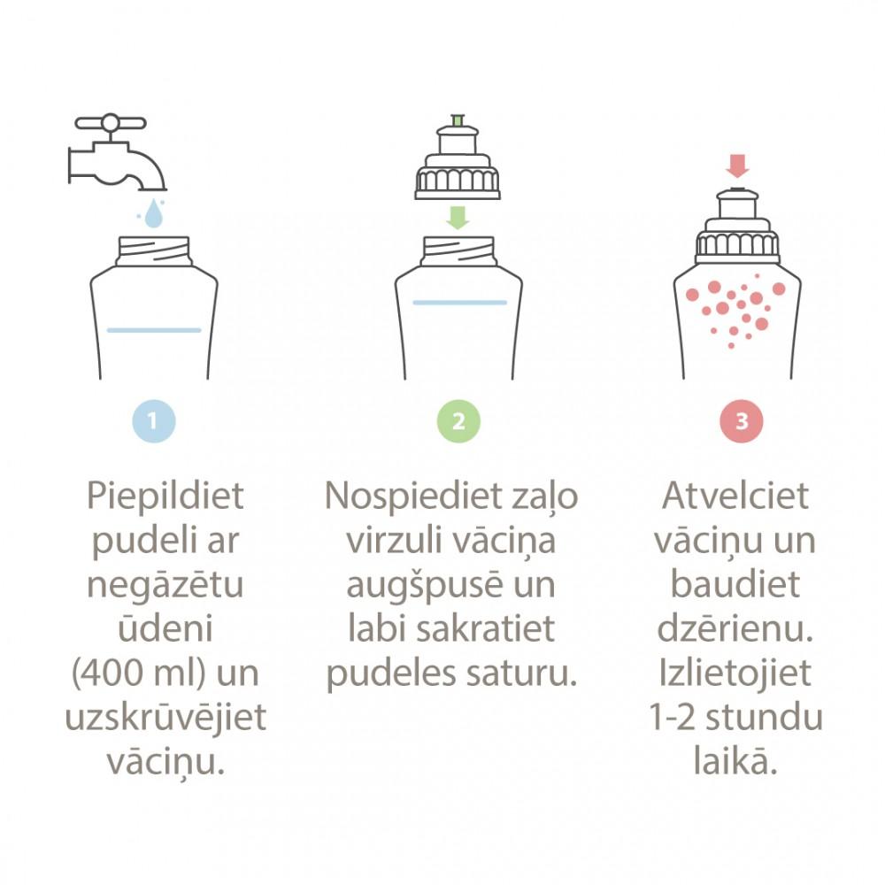 Quickap Shapevitamīnu komplekss dzēriena pagatavošanai